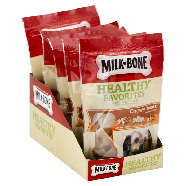 Milk Bone Healthy Favorites Chewy Dog Treats With Real Chicken 5