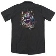 Sucker Punch Unprepared (Back Print) Mens Work Shirt