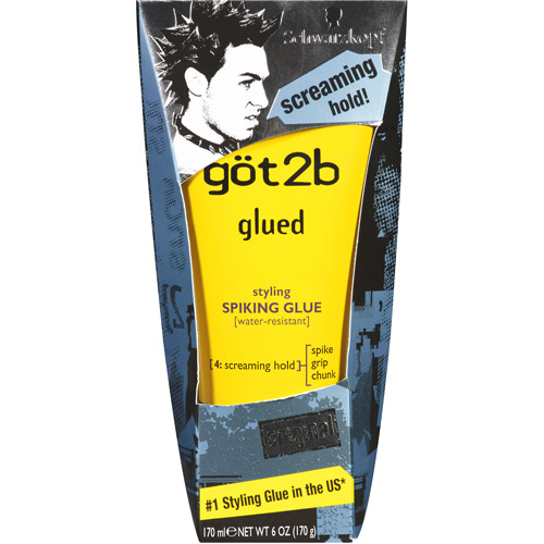 got2b Glued Styling Spiking Glue, 6 oz