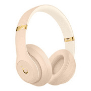 Beats Studio3 Wireless Noise Cancelling On-Ear Headphones - Apple W1 Headphone Chip, Class 1 Bluetooth, Active Noise Cancelling, 22 Hours Of Listening Time - Desert Sand