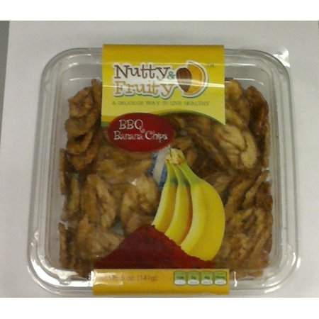 NUTTY & FRUITY BBQ Banana Chips 5oz