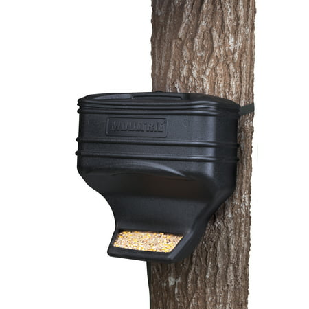 Moultrie Feed Station Food Dispensing Gravity Game Deer Feeder Kit | (Best Deer Feeder Remote)