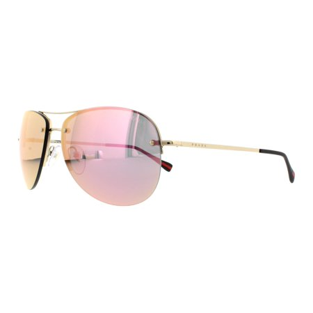 0ebc75307b Prada - PRADA SPORT Sunglasses PS 50RS ZVN5L2 Pale Gold 59MM - Walmart.com