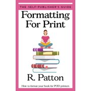 Formatting for Print - eBook