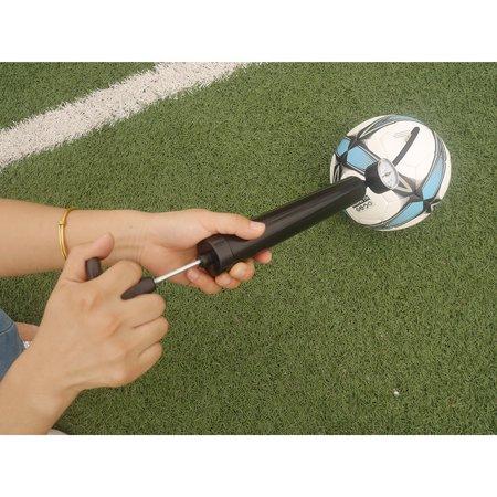 Zimtown Dual Action Ball Pump Kit for Basketbal Soccer Sports Ball,Hand Pump w/ Pressure Gauge Extra Needles Air Pump