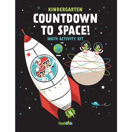 Kindergarten Countdown to Space: Math Activity Kit - Kindergarten Math Activities