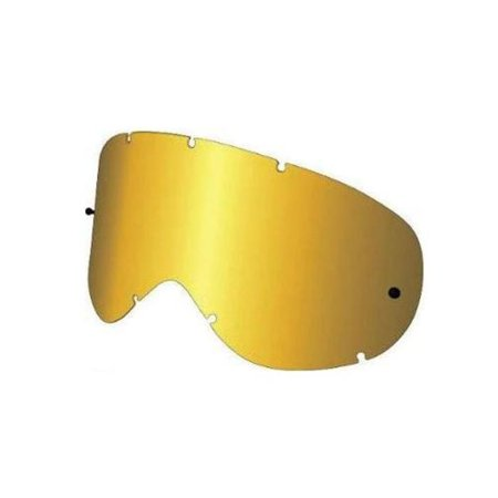 Dragon Alliance 228096438500 Replacement All Weather Lens for MDX Snow Goggles - Gold Ion