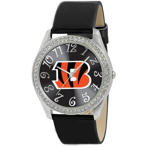 """Game Time Women's NFL-GLI-CIN """"Glitz"""" Watch - Cincinnati Bengals"""