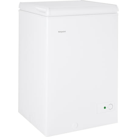 Hotpoint® 3.6 Cu. Ft. Manual Defrost Chest Freezer, HCM4SMWW, White ()