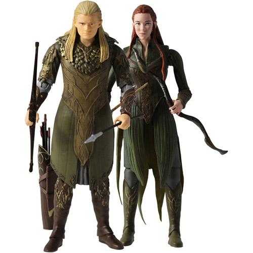 """The Hobbit Legolas and Tauriel 3.75"""" Action Figure Set"""