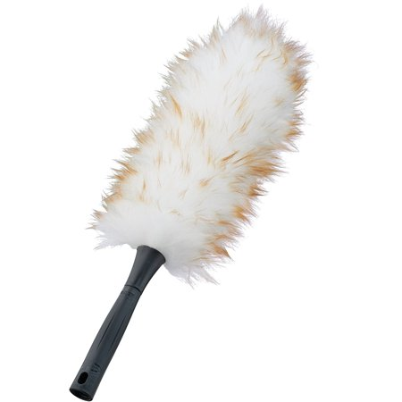 Natural Lambswool Duster - Lambs Wool Duster, Made of natural lambswool to attract and hold dust without chemicals By Unger