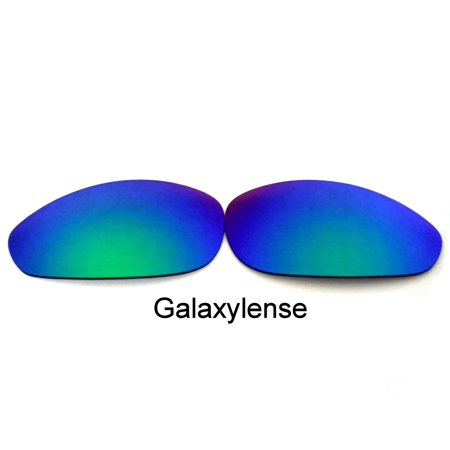 Smoke Green Replacement Lenses (Galaxy Replacement Lenses For-Oakley Straight Jacket(1999) GREEN Polarized)