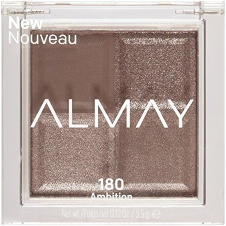 Satin Shadow - Shadow Squad, Ambition, 1 count, eyeshadow palette, Shine from day to dusk with one shade in four finishes: matte, metallic, satin, glitter By Almay