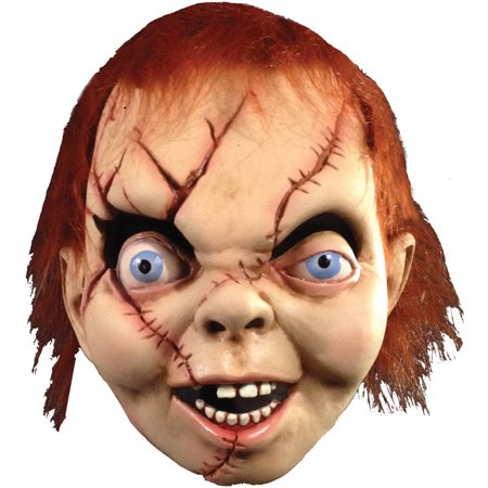 Bride Of Chucky Mask Adult Halloween - Chuckie Mask