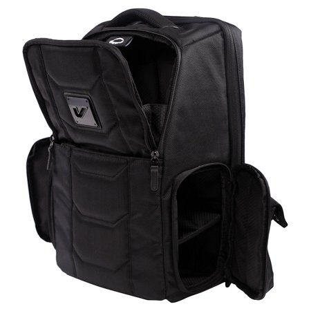 Gruv Gear VENUEBAG02-EBK Club Bag Elite, The Flight Smart Tech Backpack, Stealth