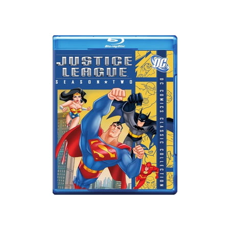 Justice League of America: Season 2 (Blu-ray) (American Indians American Justice)