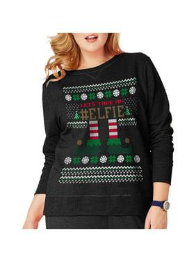 Women's Plus-Size Ugly Christmas Sweatshirt