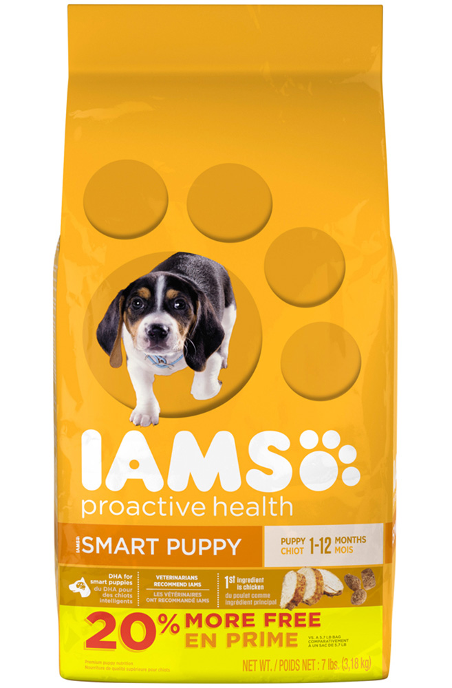 IAMS PROACTIVE HEALTH Smart Puppy Dry Puppy Food 5.7 Pounds by Mars Petcare
