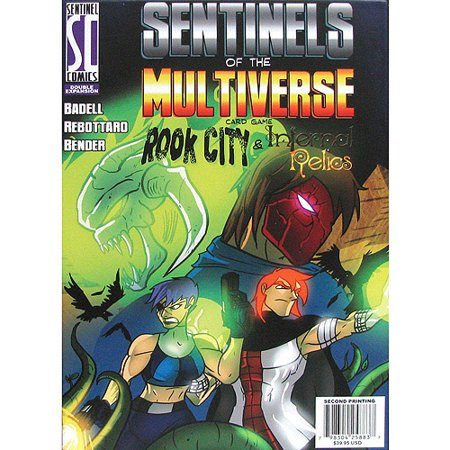 Greater Than Games Sentinels of the Multiverse: Rook City and Infernal Relics Double Expansion