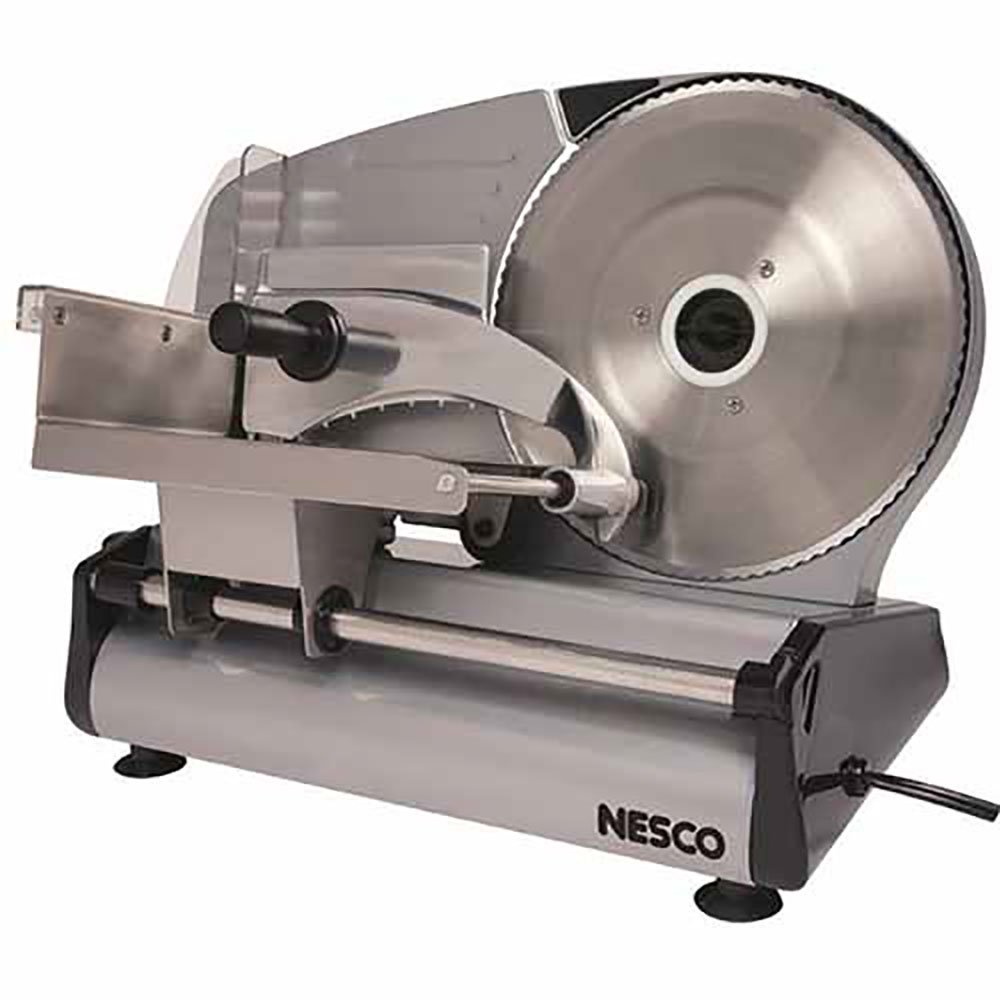 "Nesco 180 Watt Food Slicer W/ 8.7"" Blade (FS-250)"