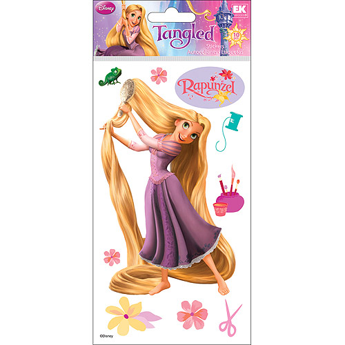 Disney Rapunzel Legrande Dimensional Stickers