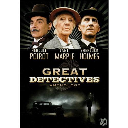 The Great Detectives Anthology: Hercule Poirot / Sherlock Holmes / Jane Marple (Full Frame)