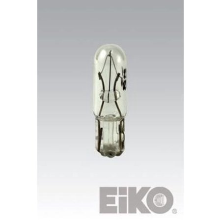 Eiko 2721 Bulb 12v .1a T1-1/2 Sub Miniature Wedge Base