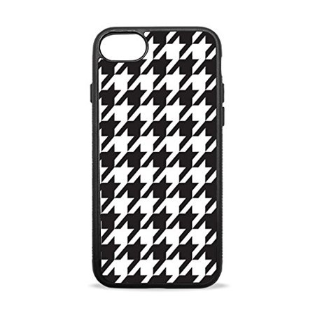 Ganma Houndstooth pattern Rubber Case For iPhone X, 10 ( 5.8 inch)