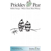 Prickley Pear Cling Stamps 2.5 Inch X 2 Inch-Two Jail Birds
