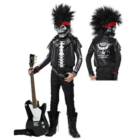 Dead Man Rockin' Boys Rock Star Halloween - Dead Prom Queen Costume Halloween