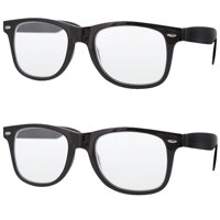 fc214bf0995 Product Image 2 Pair Value Lot Reading Glasses for Both Men Women Black  Frame Clear Lens