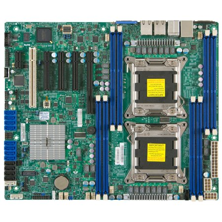 Supermicro X9DRL-3F Server Motherboard - Intel C606 Chipset - Socket R LGA-2011 - Retail Pack - ATX - 2 x Processor Support - 256 GB DDR3 SDRAM Maximum RAM - Serial ATA/600, Serial ATA/300, 6Gb/s (Supermicro Magna)