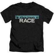 The Amazing Race Bar Logo Little Boys Shirt