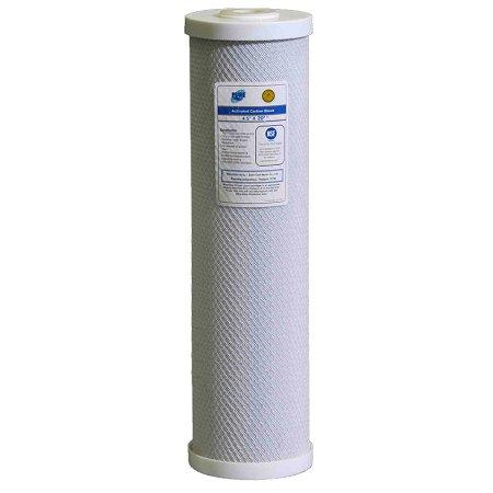 """Puregen (91451/N) 20""""x4.5"""" Big Blue """"Puroflo"""" Coconut Carbon Block 5 Micron Filter"""
