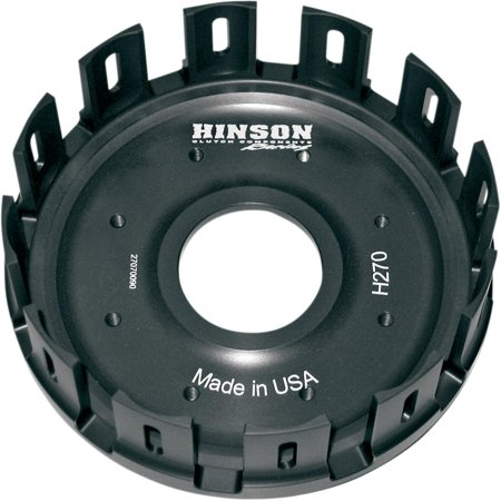 Hinson Racing H253 Billet Clutch Basket - Cushions Included