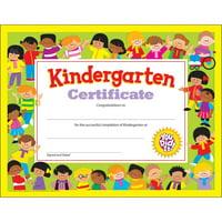 Trend, TEP17008, Kindergarten Certificates, 30 / Pack, Multicolor