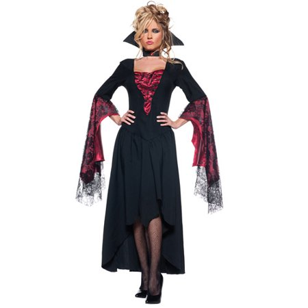 The Countess Adult Halloween Costume - Men Try On Women's Halloween Costumes