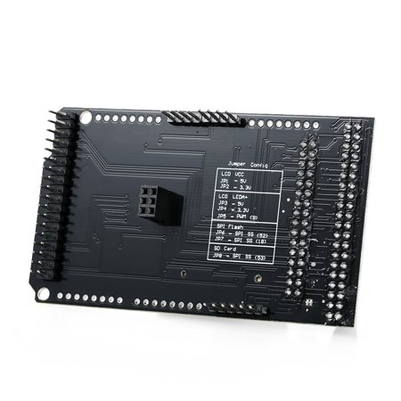 CTE TFT LCD / SD Card Shield Expansion Board for Arduino DUE Module Support 32Pin 40Pin Version LCD - image 4 of 7
