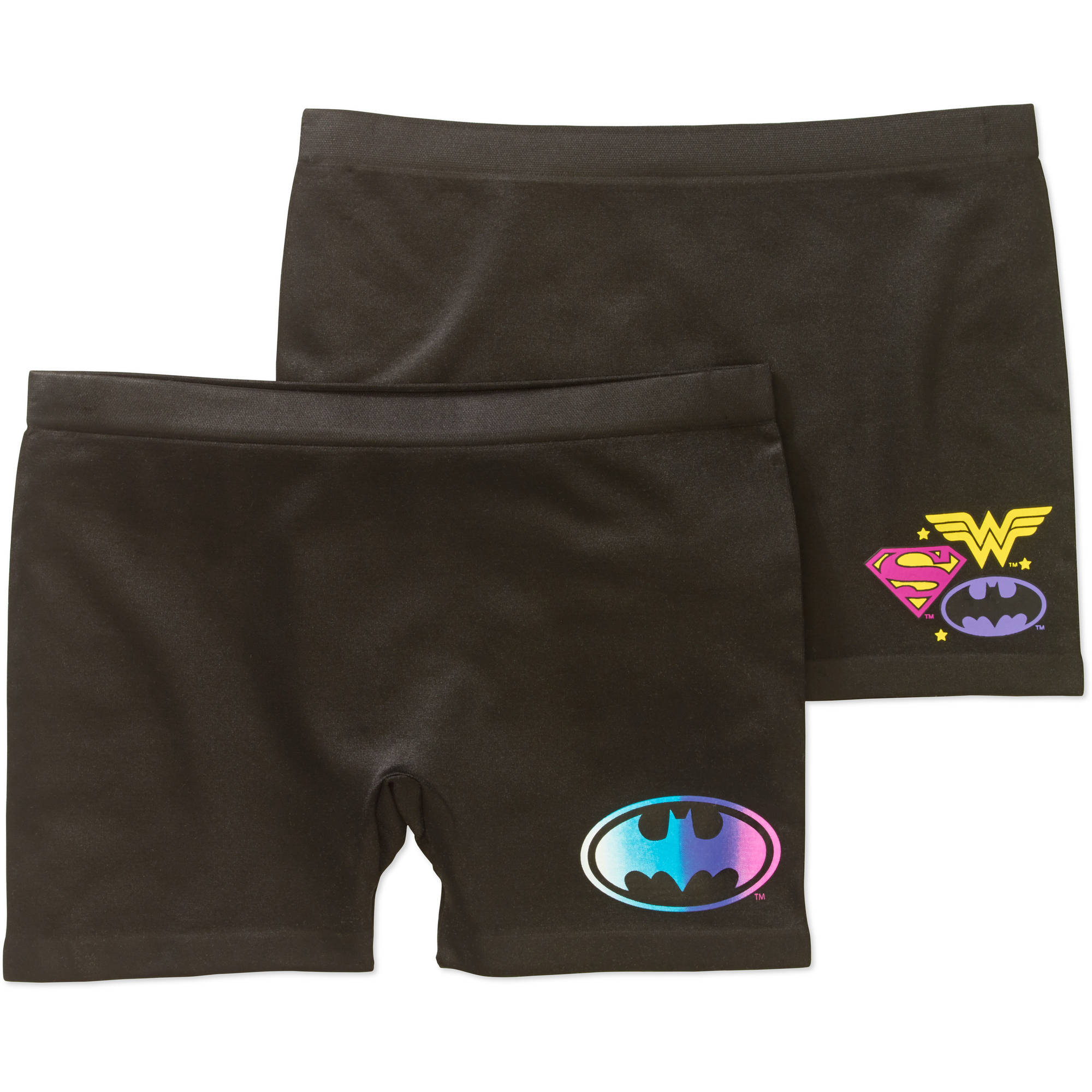 Girls' Seamless Play Shorts 2 Pack