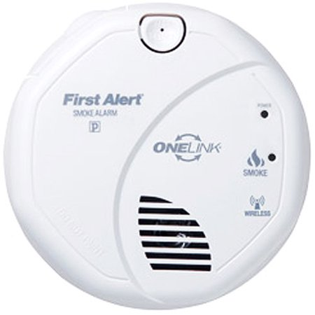 First Alert Wireless Onelink Smoke and Fire Detector, SA501CN-3ST