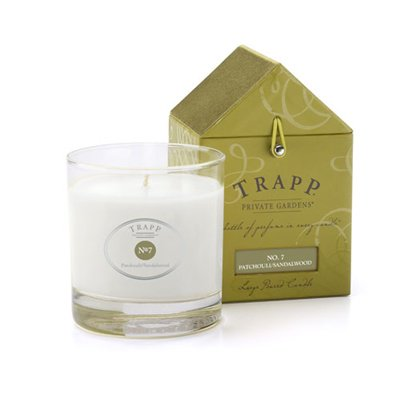 Trapp Candle Flowers - Trapp No. 7 Patchouli/Sandalwood - 7oz Large Poured Candle