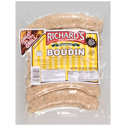 Richard's Cajun Country Boudin, 32 oz