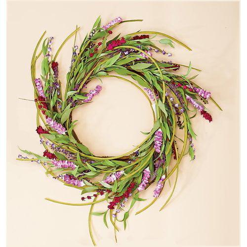 August Grove 18'' Spike Wreath