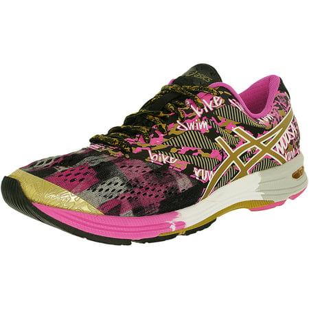 buy popular bd29e 8c67d ASICS - Asics Women s Gel-Noosa Tri 10 Gr Black Gold Gold Ribbon Ankle-High  Running Shoe - 6.5M - Walmart.com