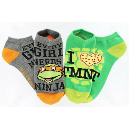 Ankle Socks 2-Pack (Tmnt Socks)