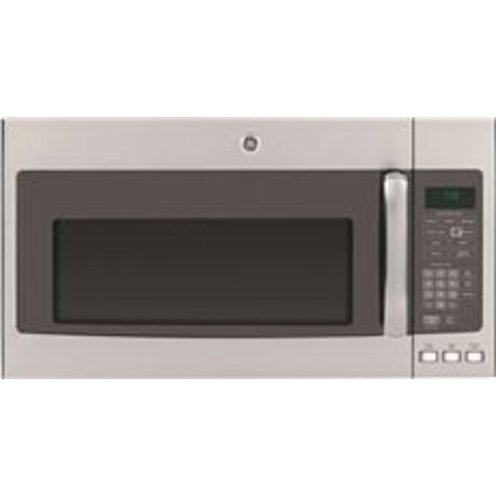 GE 1.9 CU. FT. OVER-THE-RANGE MICROWAVE OVEN, STAINLESS, 1100 WATTS