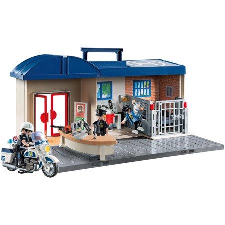 Playmobil Take Along Police Station