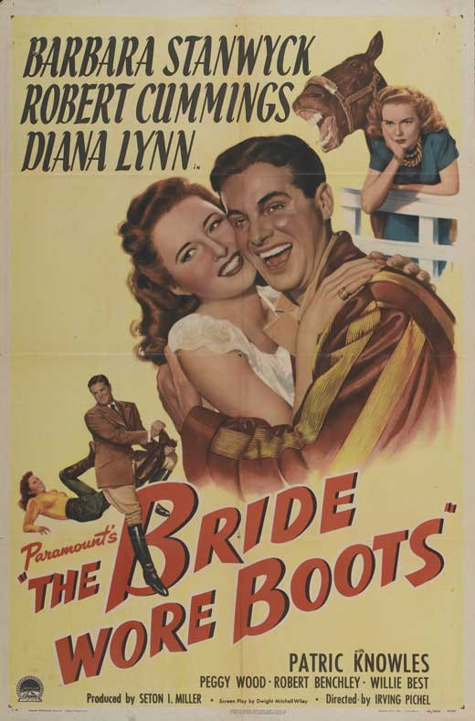Bride Wore Boots POSTER Movie Mini Promo by