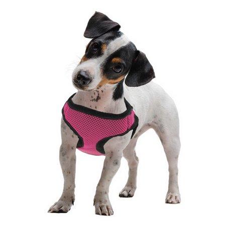 Brybelly Medium Pink Soft'n'Safe Dog Harness