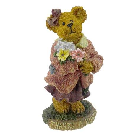 Boyds Bears Resin (Merci Abunch Many Thanks Thanks Bearstone - Resin 4.00 IN, By BOYDS BEARS)